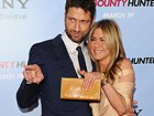 Jennifer Aniston And Gerard Butler At The New York Premiere Of 'Bounty Hunter'