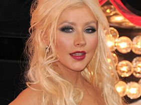 "Christina Aguilera attends the premiere of ""Burleqsue"" on November 15, 2010 in Los Angeles"