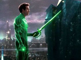 "Ryan Reynolds in ""Green Lantern"""