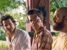 "Bradley Cooper, Ed Helms and Zach Galifianakis in ""The Hangover Part II"""