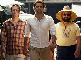 Ed Helms, Bradley Cooper and Zack Galifianakis in &quot;The Hangover Part II&quot;