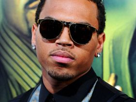 "Chris Brown arrives at Screen Gems' ""Takers"" premiere at Arclight Cinema Cinerama Dome on August 4, 2010 in Hollywood"