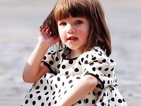 Tom Cruise and Katie Holmes' child Suri Cruise