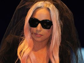 Lady Gaga at CES 2011 in Las Vegas