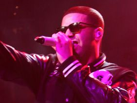 "Drake performs at the ""Powerhouse 2010"""