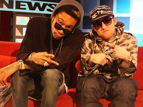 "Wiz Khalifa and Mac Miller on ""RapFix Live"""