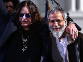 "Ozzy Osbourne and Yusuf Islam at the ""Rally to Restore Sanity And/Or Fear"""