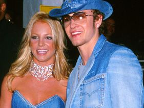 Britney Spears and Justin Timberlake in 2001