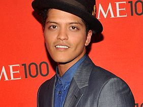 Bruno Mars attends the <i>Time</i> 100 Gala event on April 26, 2011