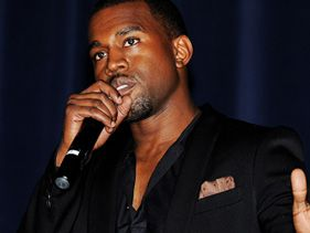 Kanye West speaks at the &quot;Runaway&quot; premiere