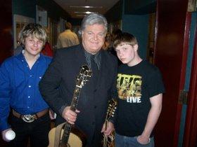 Eli (L),Rick Skaggs (C), and Eli's brother Justin (R)