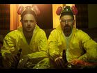 Aaron Paul and Bryan Cranston (Walter White)