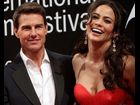 Tom Cruise and Paula Patton attends the 'Mission: Impossible - Ghost Protocol' Premiere