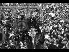 1969: Optimus Prime lets his freak flag fly at Woodstock.