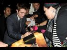 "Robert Pattinson with fans at the premiere of ""The Twilight Saga: Breaking Dawn - Part 1"""