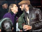 Alicia Keys and Swizz Beatz attend the release party for Keys' album on December 18, 2009, in New York City