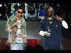 Wiz Khalifa and Snoop Dogg perform on day three