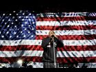 Jay-Z performs for president Barack Obama during a campaign rally in Columbus, Ohio