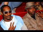 Snoop Dogg and Nate Dogg at the 2001 Video Music Awards