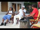 """Lil Wayne and Birdman during a special Miami episode of """"RapFix Live"""""""