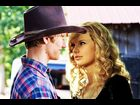 "Lucas Till and Taylor Swift in the ""You Belong with Me"" video"